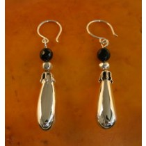 Taxco .925 Sterling Silver Citlal Castillo Gardens of Silver with Black Onyx