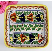 Talavera Vazquez Dolores Hidalgo Square Baking Dish Serve Ware